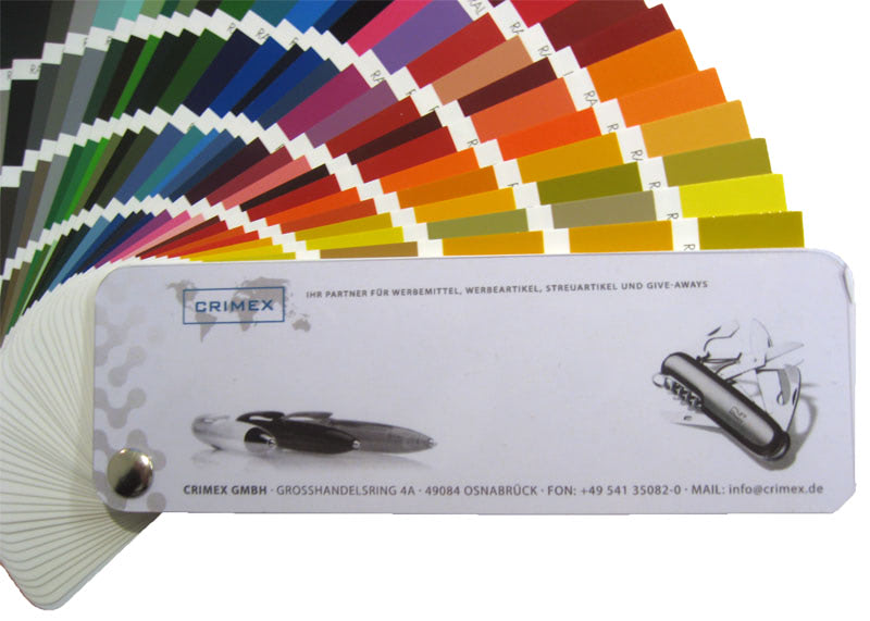 Die neue RAL-Farbkarte ist da! - Werbemittel Blog - Innovative ...
