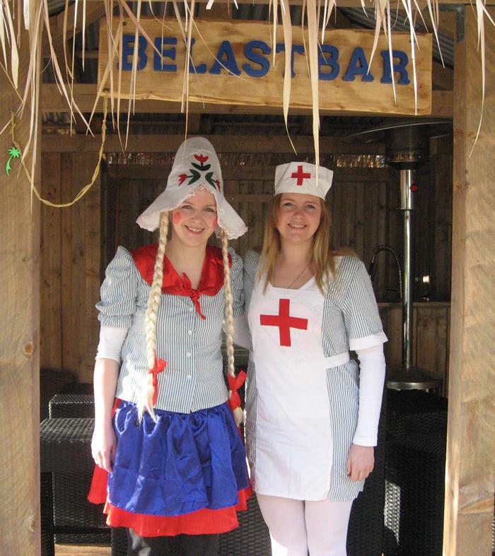 Frau Andrea Töns und Frau Francheska Lee