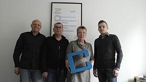 Verstärkung am Main: (v.l.): Tom Hipper, Jörg Lesny, Marita Juli und Philipp Lesny