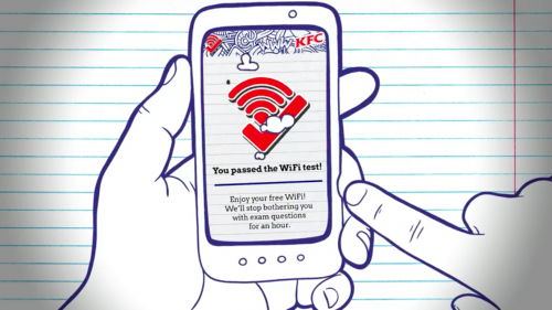 wifi test kfc